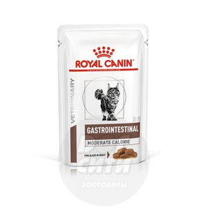 Royal Canin Gastro Intestinal Moderate Calorie, пауч