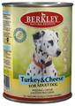 Berkley Turkey&Cheese for Adult Dog