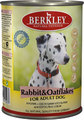 Berkley Rabbit&Oatflakes for Adult Dog