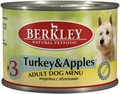 Berkley №3 Turkey&Apples for Adult Dog