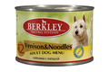 Berkley №12 Venison&Noodles for Adult Dog