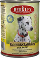 Berkley Rabbit&Oatflakes for Puppy