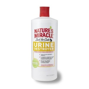 Natures Miracle Urine Destroyer for Cats