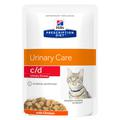 Hills PD Feline c/d urinary stress, пауч