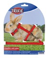 TRIXIE Поводок-шлейка''Harness with Lead for Rabbits and Guinea Pigs'' артикул: 6150