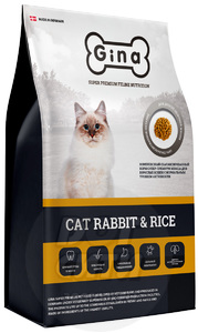 Gina Cat Rabbit&Rice
