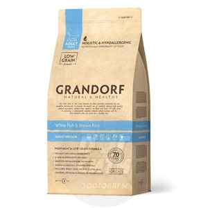 Grandorf Indoor White Fish & Brown Rice
