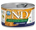 Farmina N&D Ancestral Grain Lamb & Blueberry Mini Wet Food
