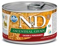 Farmina N&D Ancestral Grain Chicken & Pomegranate Mini Wet Food